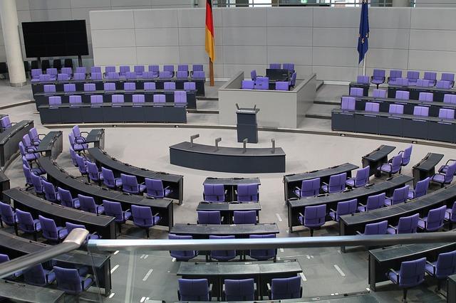 zasedací místnost politiků