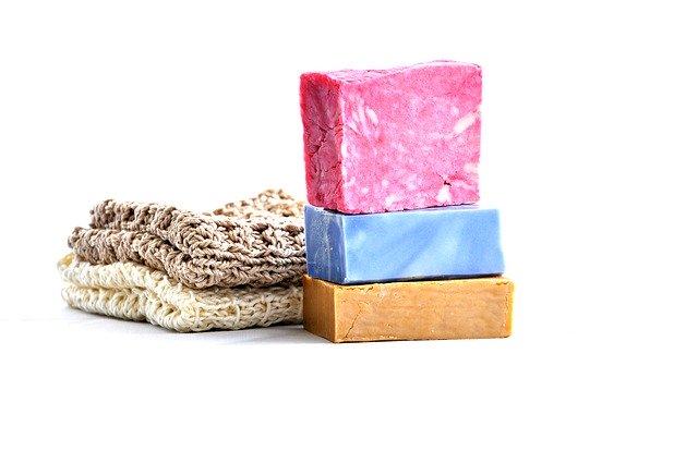 toaletní mýdla