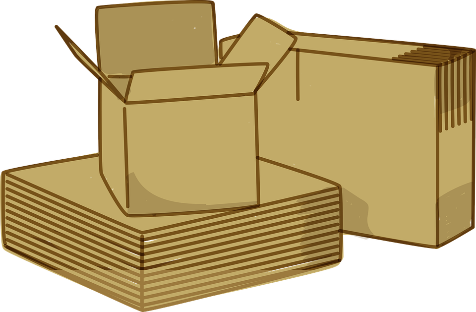 krabice pro stěhování