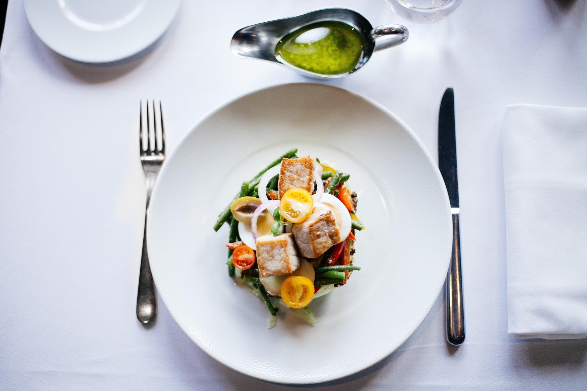 obědový salát